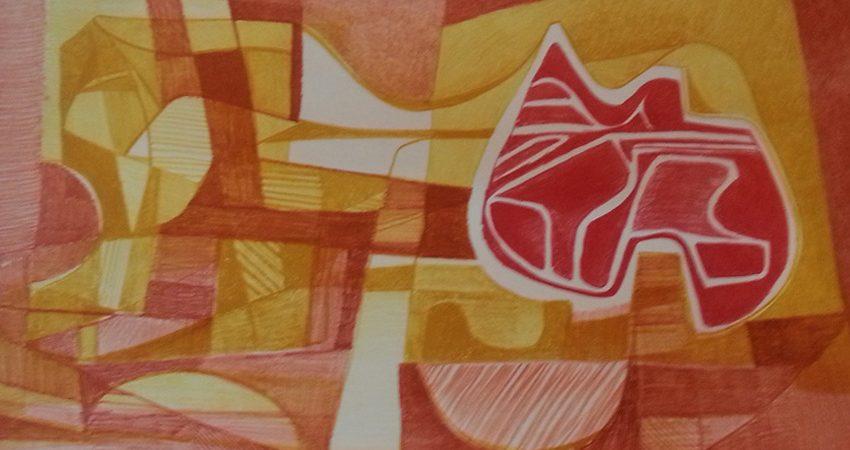 BM01 - fragmento - Litografia- (58/70) - 0.57 x 0.77m
