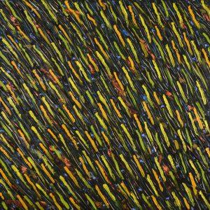 Composição em Verde 01 - 100 x 100cm