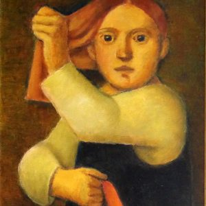 Reynaldo Fonseca - óleo s/tela - 0.60 x 0.50m