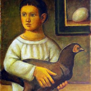 Reynaldo Fonseca - óleo s/tela - 0.46 x 0.38m