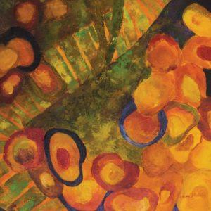 fragmento - Painel - da série As que vieram... - acrílica s/ canvas - 0.50 x 0.50m